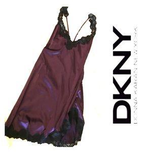 DKNY Satin & Lace Nighty